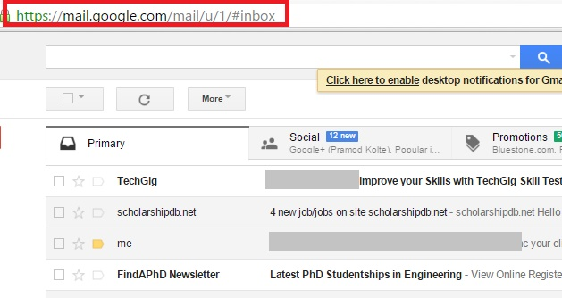 How to open your additional Gmail accounts straight from URL
