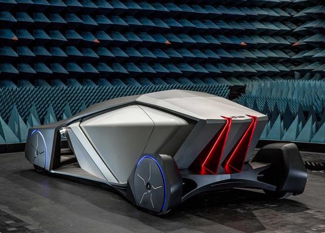 從摺紙藝術獲得靈感!無人自動駕駛概念車「Shiwa」現身   TechNews 科技新報