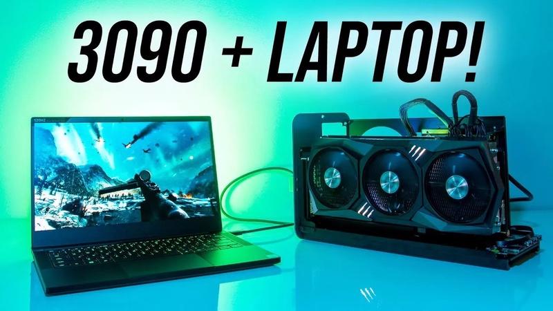 RTX 3090 Gaming Laptop 2080 Ti eGPU Comparison | TechPlanet
