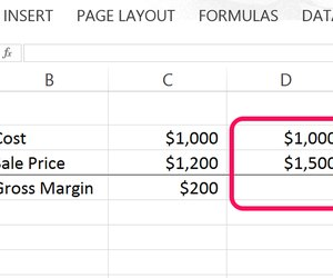 How to Calculate Gross Profit Margin Using Excel   Techwalla.com