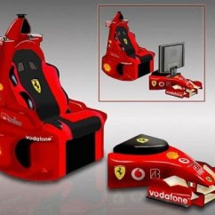 Ferrari Office Chair Ikea Garden Covers Espectacular Silla De F1