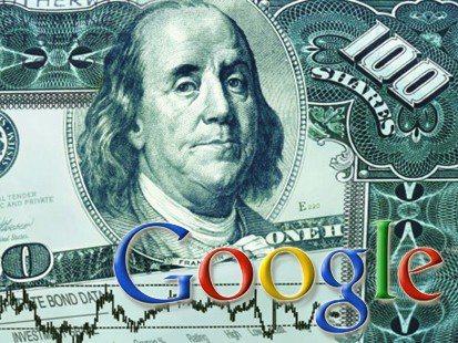 Google y billete