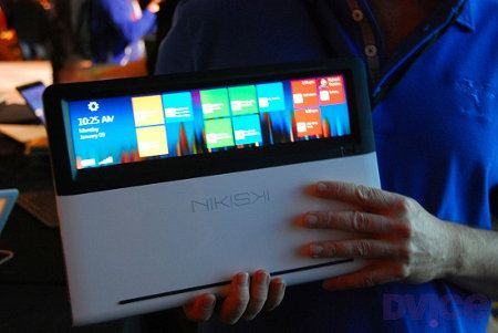 Intel Nikiski, una laptop con touchpad transparente