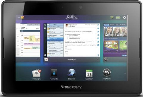 BlackBerry PlayBook 4G LTE está en camino