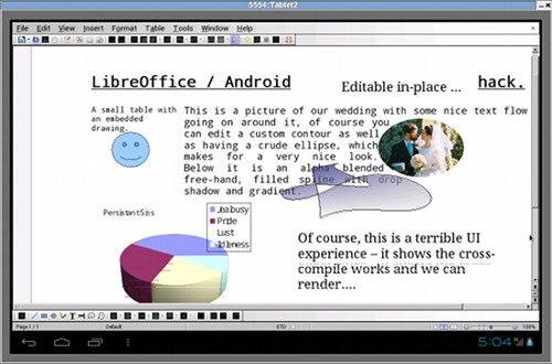 LibreOffice llegará a móviles Android