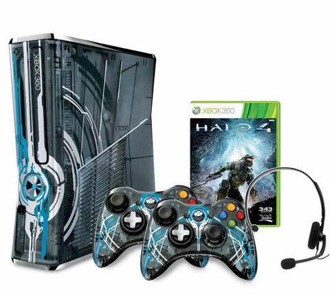 Nueva Xbox 360 con temática de Halo y en edición limitada
