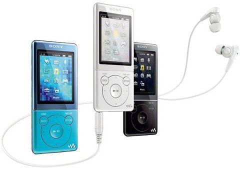 Sony lanza nueva línea de reproductores Walkman