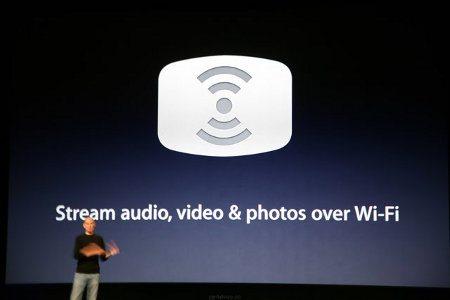 Apple trabaja en una versión de AirPlay que no requiere WiFi
