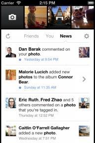 Facebook actualiza su app de cámara para iOS