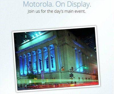 Motorola anunciaría el Droid Razr HD el 5 de septiembre