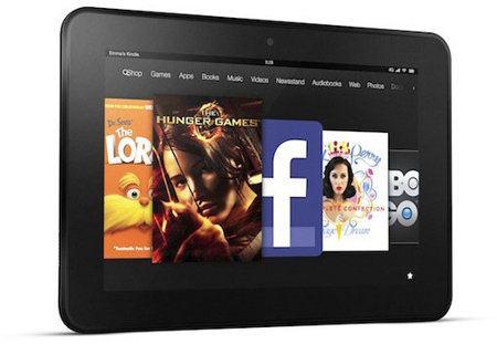 Amazon presenta el Kindle Fire HD