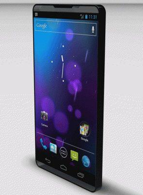 Así se vería un smartphone sin bisel