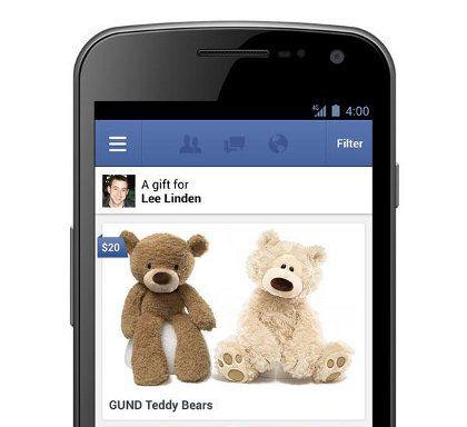 Facebook ahora te permite hacer regalos de verdad a tus amigos virtuales