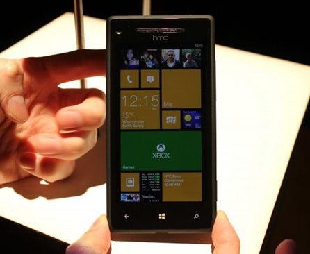 HTC 8x, nuevo smartphone W8 de gama alta