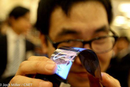 Samsung comenzaría a producir pantalla AMOLED flexibles en noviembre