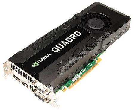 nVidia Quadro K5000, nueva tarjeta gráfica de 4GB para Macs