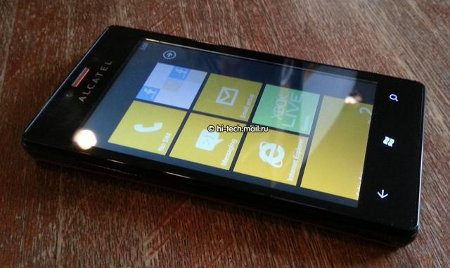 Alcatel One Touch View filtrado con Windows Phone 7.8