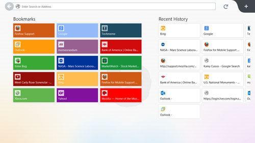 Mozilla lanza un avance de lo que será Firefox Metro para Windows 8