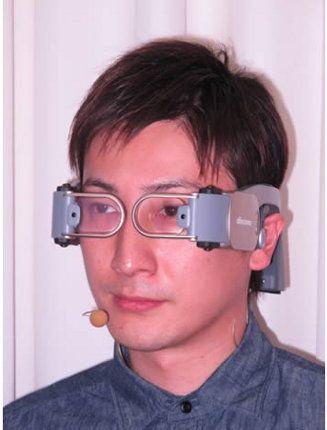 NTT Docomo presenta un prototipo de smartphone que se coloca en nuestra cabeza