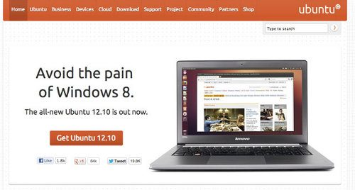 Ubuntu 12.10 Quantal Quetzal ya está disponible