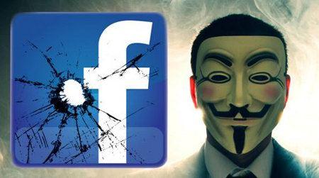 Anonymous atacaría Facebook hoy en el Día de Guy Fawkes