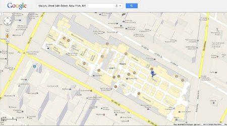 Google Maps añade planos de interiores