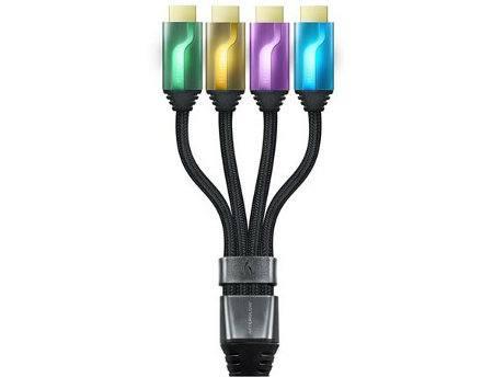 PDP Afterglow Multi-HDMI Cable, geniales cables para facilitar conexiones HDMI