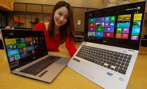 LG U560, una nueva notebook de gama alta