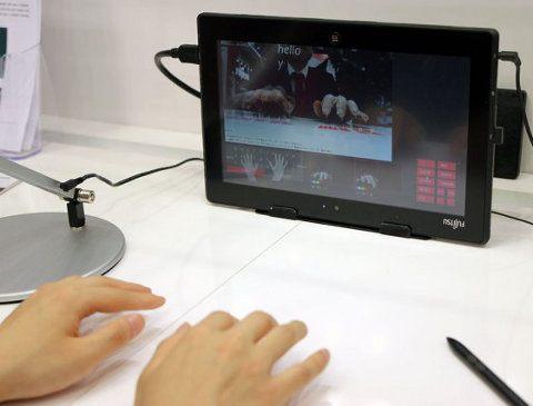 Fujitsu presenta un prototipo de tablet en el cual podemos escribir sin usar ningún teclado