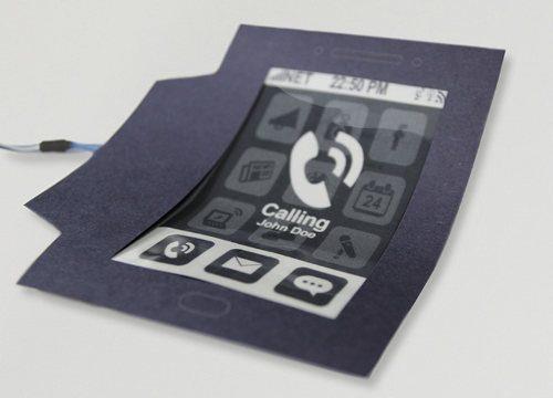 Morephone, un nuevo tipo de teléfono flexible