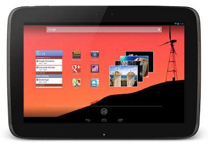 Nuevas versión del Nexus 10 podría ser lanzada dentro de poco
