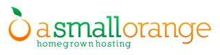 a small orange hosting