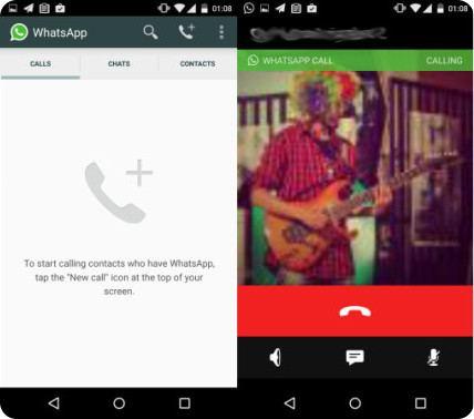 WhatsApp ya está probando el servicio de llamadas de voz