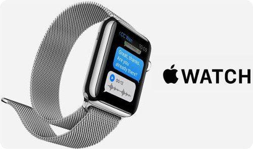 El Apple Watch recibe su primera actualización