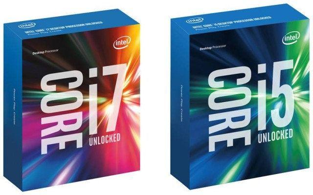 Intel i5 i7 sexta generación