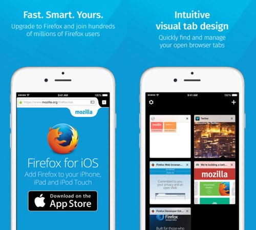 Firefox ya está disponible en iOS