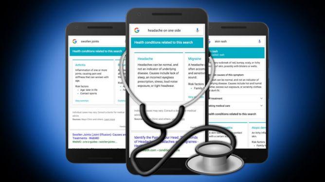 Google ofrece búsqueda avanzada sobre enfermedades