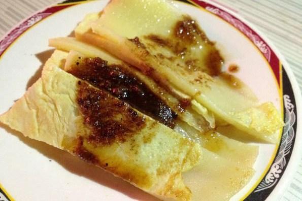 【台南食記】府前路中西區-豆奶宗 宵夜限定的終極美食沙茶蛋餅