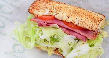 【台北食記】信義區-Quiznos Sub美國第二大香烤潛艇堡