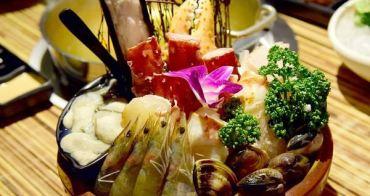 【台北食記】帝王蟹、天使紅蝦、東石鮮蚵海鮮吃到飽!澄 日式精緻料理帝王蟹鍋物 東區火鍋吃到飽