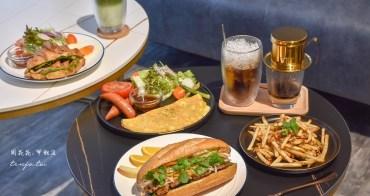 【新店大坪林美食】Johnny's 薔尼思早午餐 超好吃越式法國麵包!平價大份量高推薦