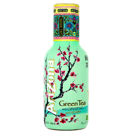 Arizona Green Tea With Ginseng And Honey 473Ml - Groceries ...