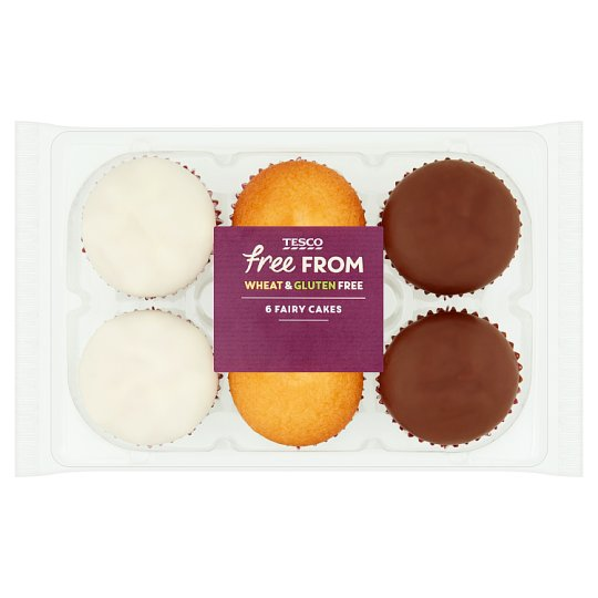 Tesco Free From Assorted Fairy Cakes 6 Pack 165g Tesco Groceries