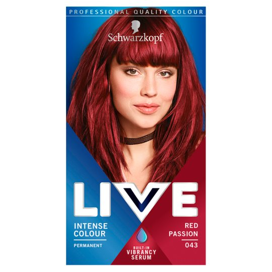 Schwarzkopf Live Colour Xxl Red Passion R4