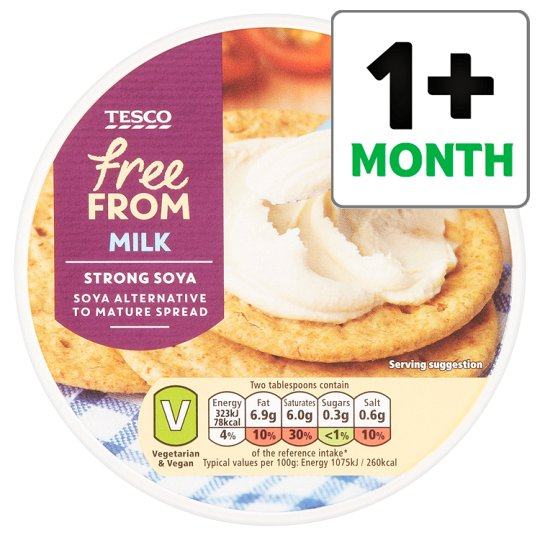 Tesco Free From Cheddar Style Spread 255G