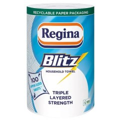 Kitchen Towel Cutlery Regina Blitz 1 Roll Tesco Groceries