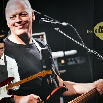 David Gilmour, record auction for his guitars: proceeds to save the climate