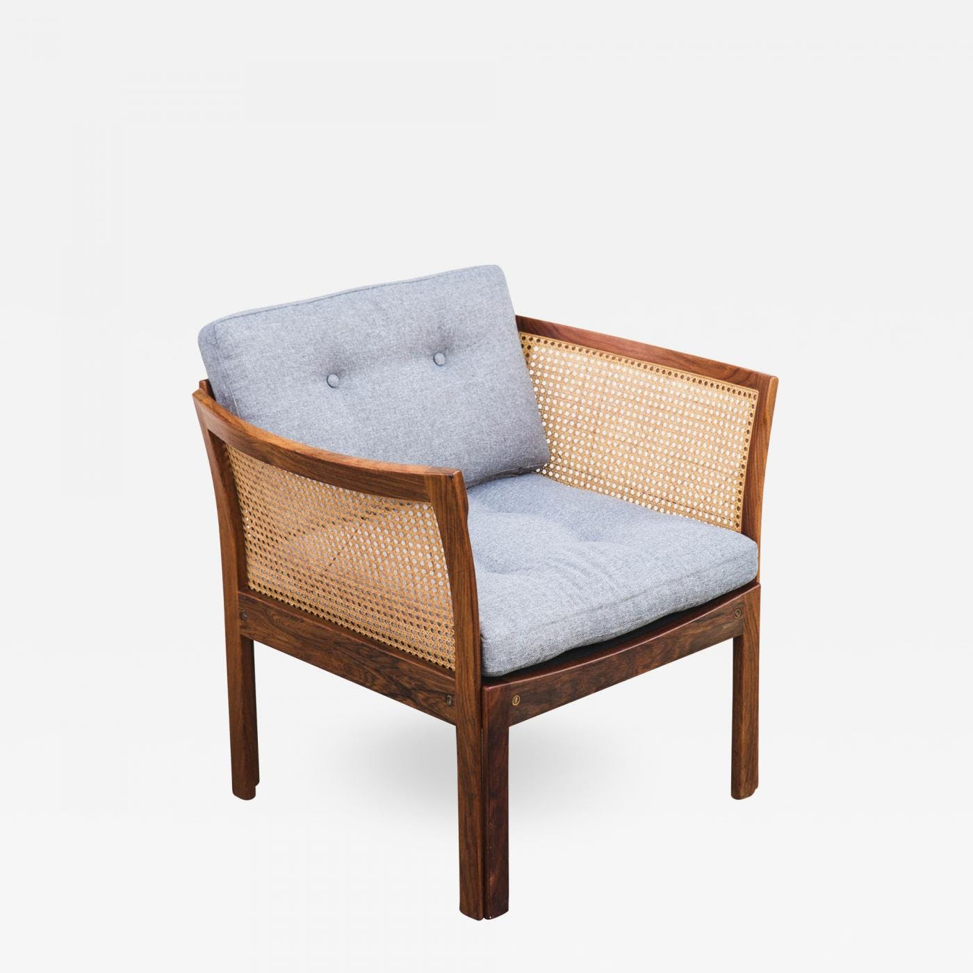 Danish Modern Lounge Chair Danish Modern Plexus Rosewood Lounge Chair By Illum Wikkelso For Cf Christensen Pair Available