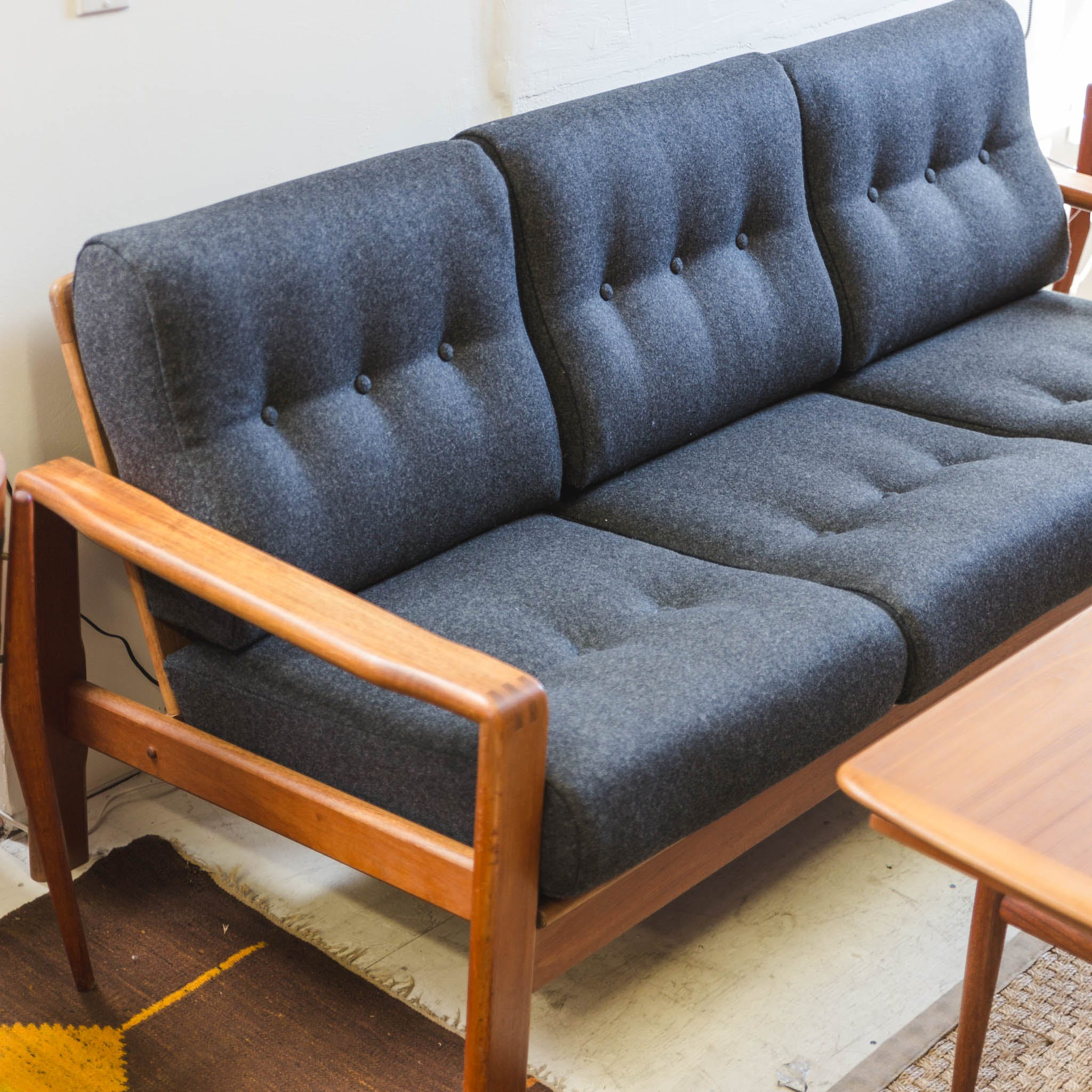 sofa reupholstering company gr mid century upholstery and teak the blue door