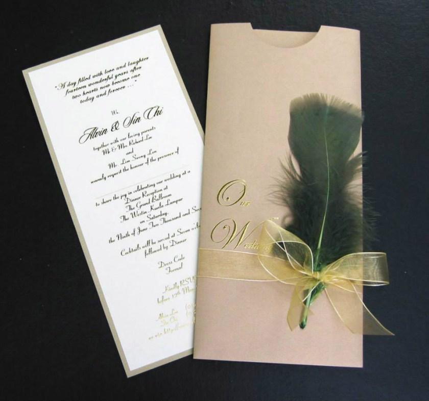 Make Outstanding Wedding Invitation 101120175 Gallery